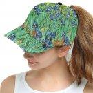 Irises Van Gogh Snapback Cap Hat