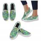 Size US 7.5 Irises Van Gogh Women's Slip On Canvas Shoes