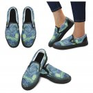 Size US 9  Starry Night Van Gogh Women's Slip On Canvas Shoes
