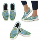 Size US 7.5  Almond Branches in Bloom Van Gogh Women's Slip On Canvas Shoes