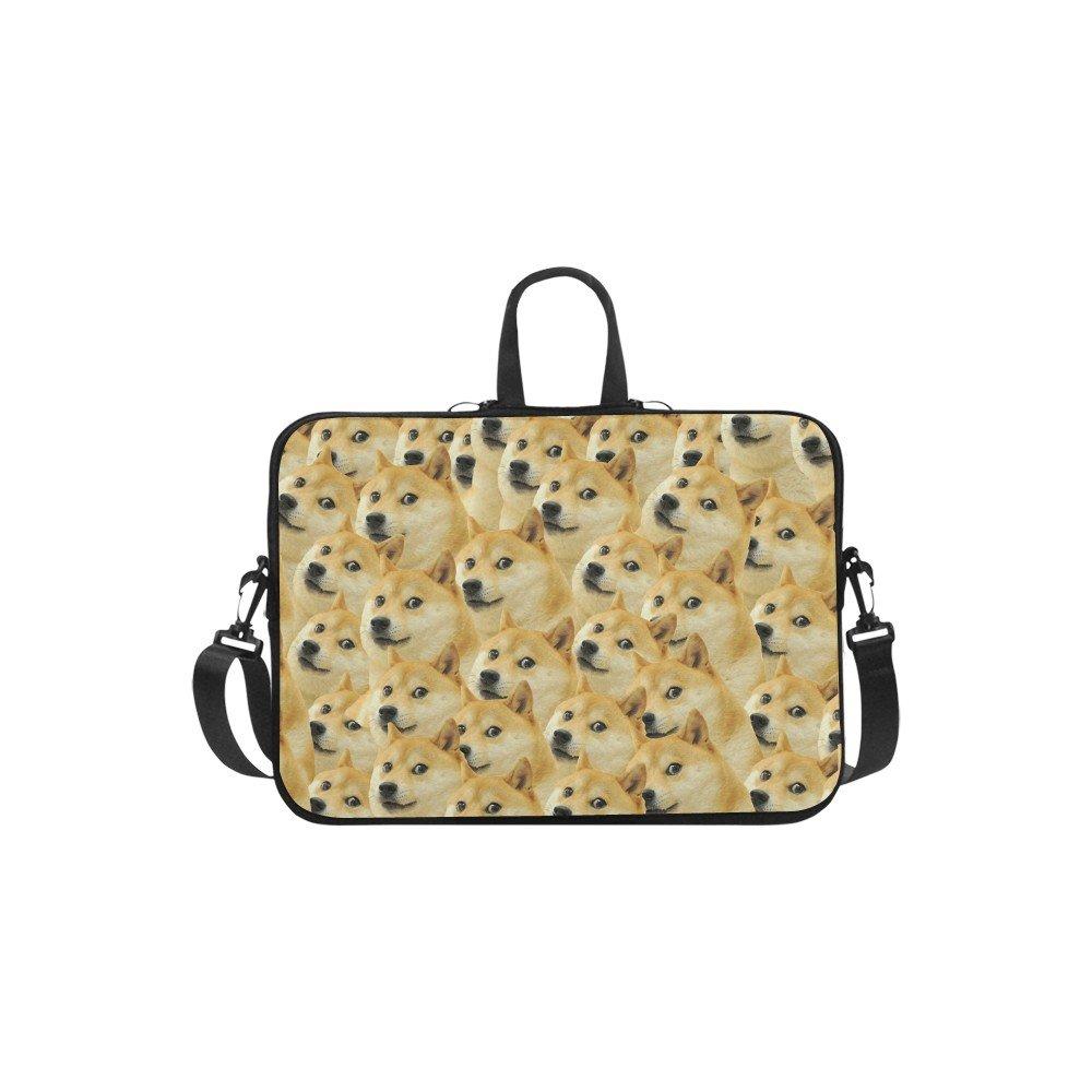 """Popular Cute Dog Meme Sleeve Case Shoulder Bag for Laptop 13"""" 13.3"""""""
