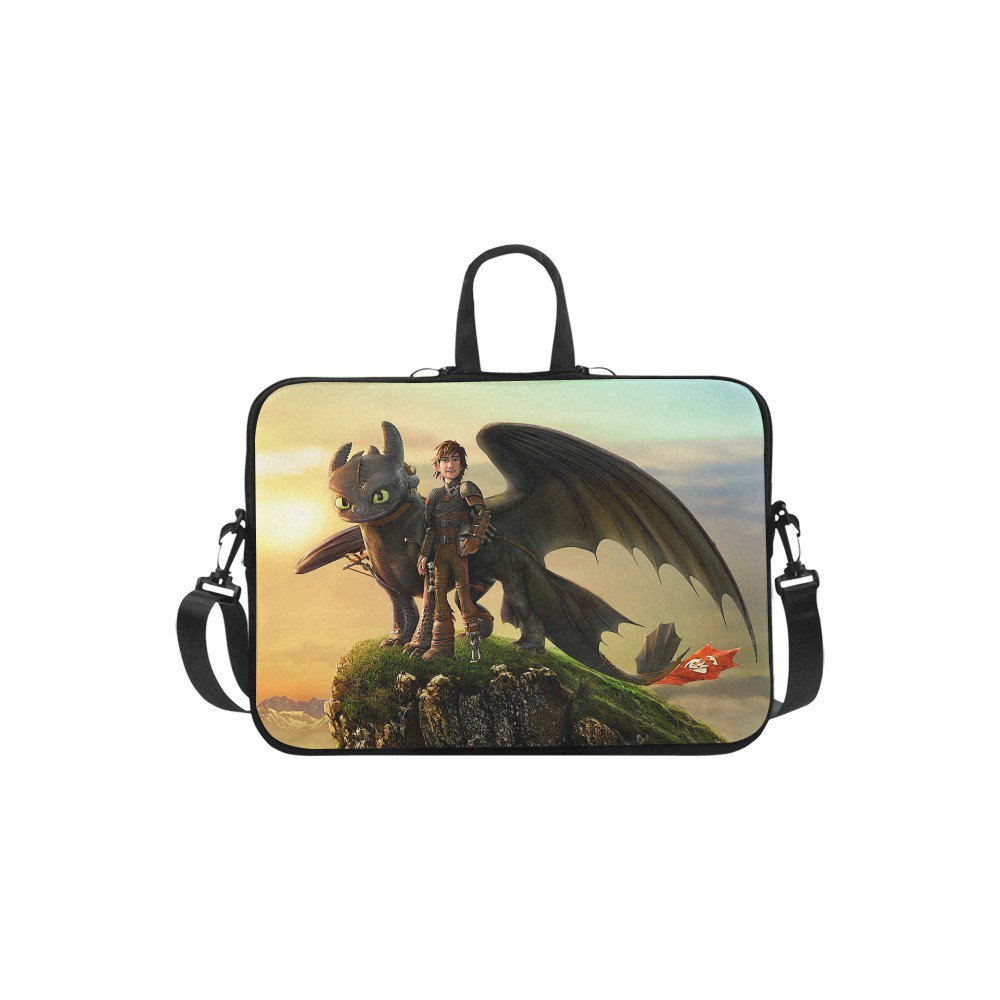 "How to Train Your Dragon Sleeve Case Shoulder Bag for Laptop 15.4"" 15.6"""