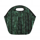 Matrix Computer Coding Neoprene Lunch Bag (Small)