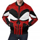 Size L - Dead Pool Mix Punisher Men's All Over Print Casual Jacket