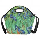 Irises Van Gogh Neoprene Lunch Bag (Large)