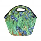 Irises Van Gogh Neoprene Lunch Bag (Small)