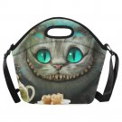 Chesire Cat Neoprene Lunch Bag (Large)