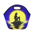 Little Mermaid Silhouette Neoprene Lunch Bag (Small)