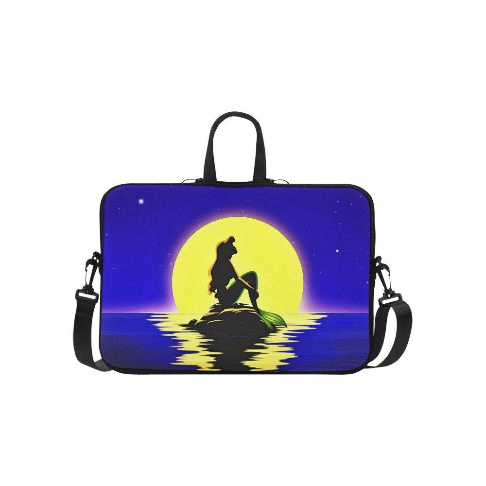 "Little Mermaid Silhouette Sleeve Case Shoulder Bag for Laptop 15.4"" 15.6"""