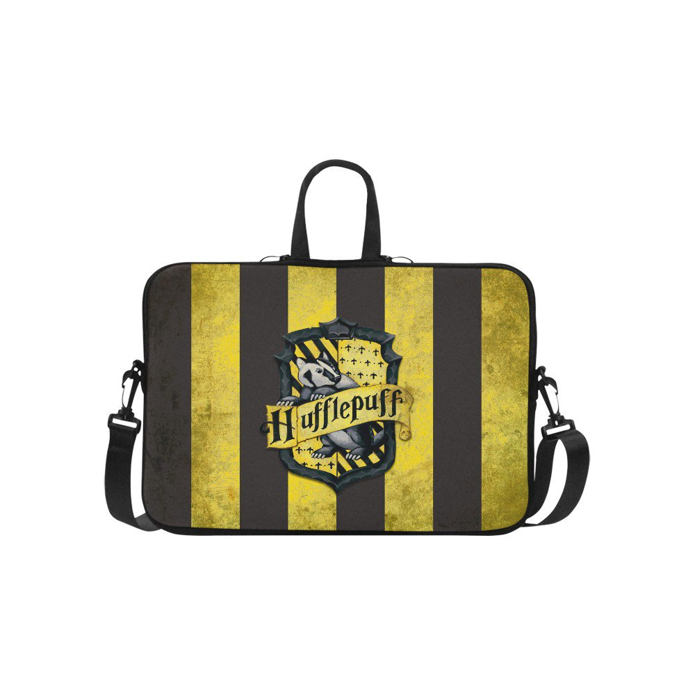 "Hufflepuff Sleeve Case Shoulder Bag for Laptop 17"" 17.3"""