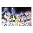 """Sailor Moon All Complete Scouts Wall Art Poster 23"""" x 36"""""""
