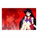 "Sailor Mars Wall Art Poster 23"" x 36"""