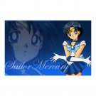 "Sailor Mercury Wall Art Poster 23"" x 36"""
