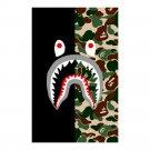 """Shark Camo Wall Art Poster 23"""" x 36"""""""