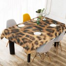 "Leopard Fur Printing 52"" x 70"" Table Cloth Tablecloth Table Cover"