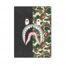 "Shark Camo 'One Layer' Fleece Blanket (Large) 58""x80"""