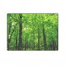 "Green Rain Forest 'One Layer' Fleece Blanket (Large) 58""x80"""