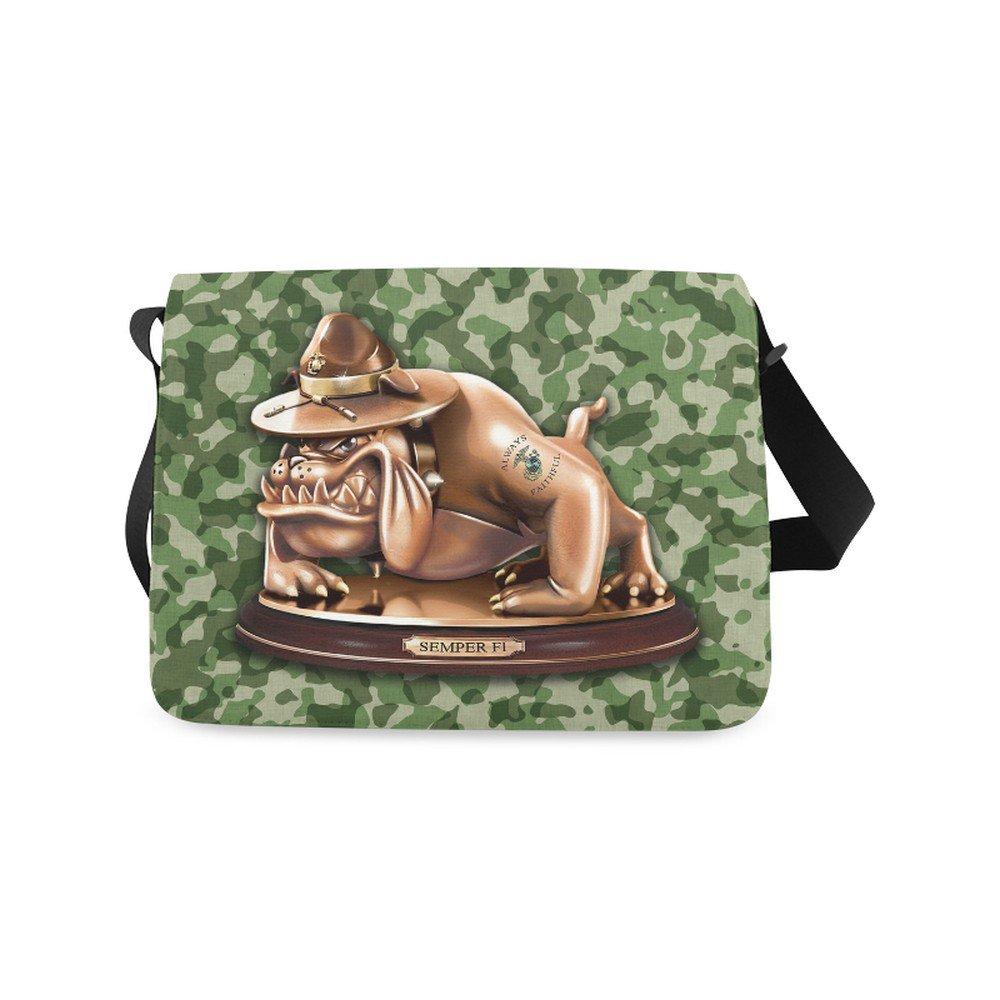 Devil Dog Semper Fi Shoulder Messenger Bag School Bag