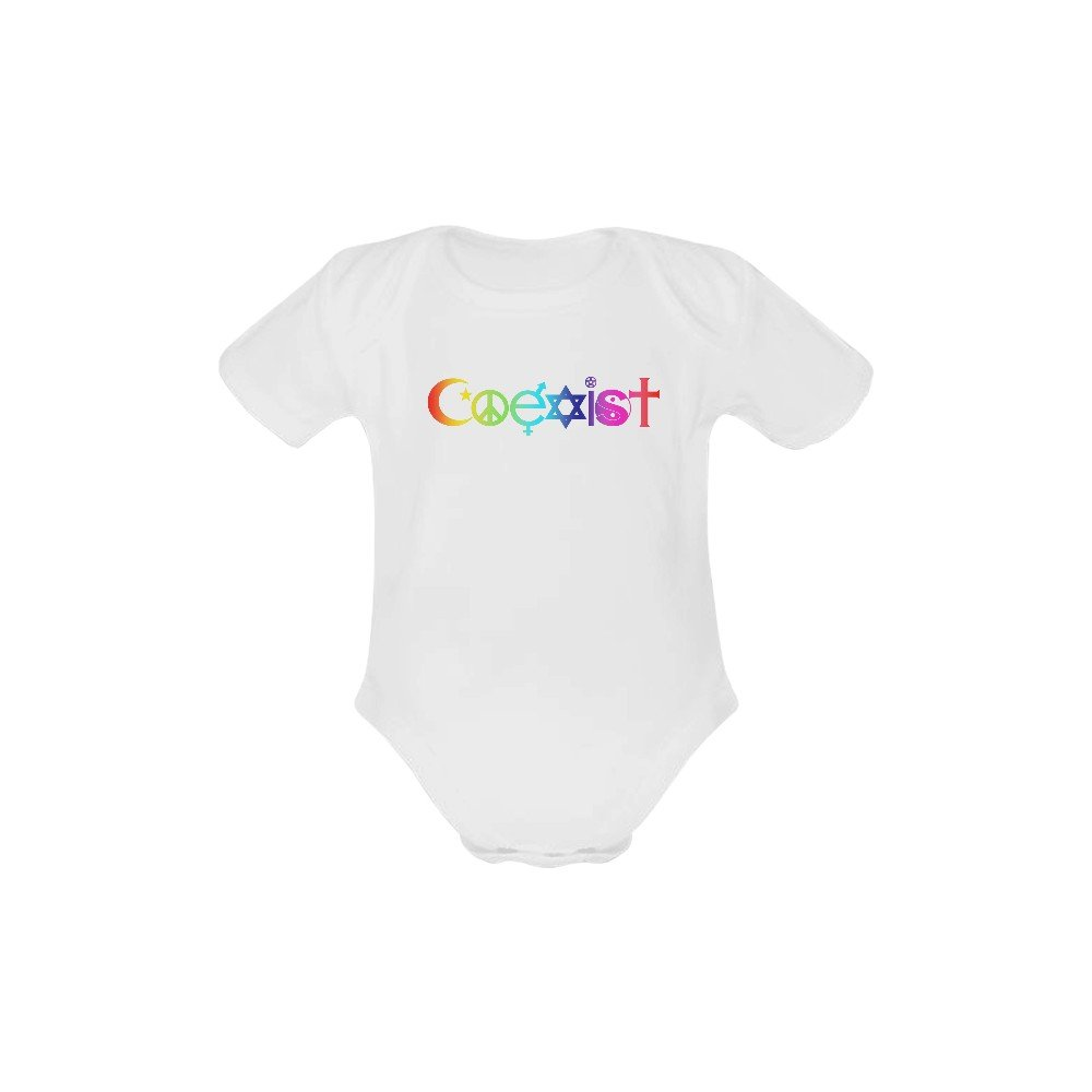 12 Months Coexist Baby Creeper Short Sleeve One Piece