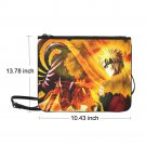 "Naruto Anime Manga Nylon Slim Clutch Bag 10.43""(L) x 13.78"" (H)"