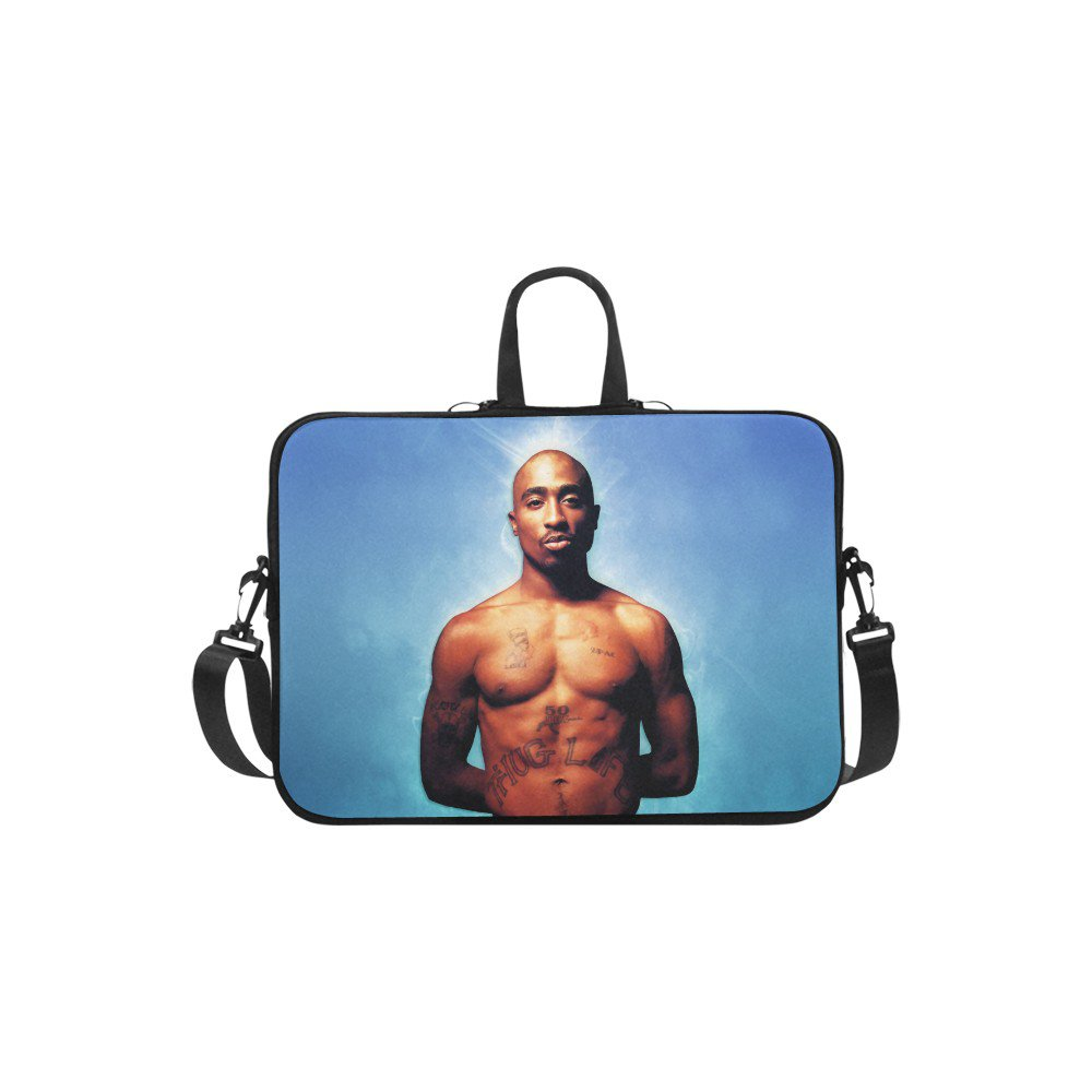 "Tupac 2pac The Rapper Sleeve Case Shoulder Bag for Laptop 17"" 17.3"""