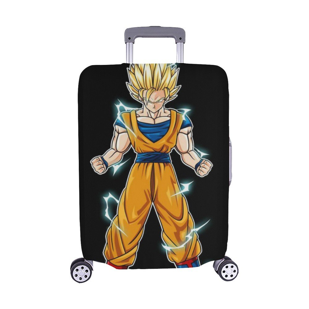 Size L - Dragon Ball Sun Goku Super Saiyan Luggage Cover