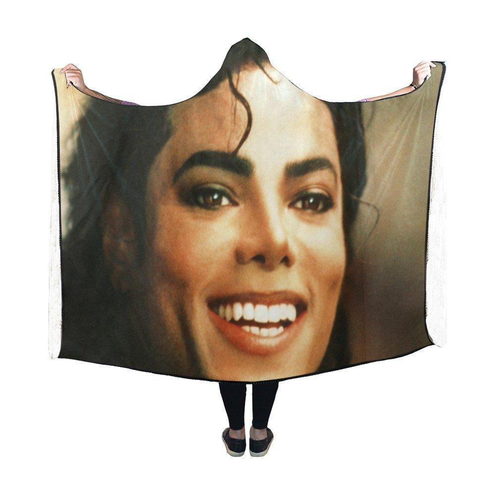 "Michael Jackson King of Pop Color Hooded Blanket 60"" x 50"""