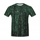 US SIZE 3XL - Matrix Computer Coding Programming Men's Full Print T-Shirt Tee