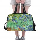 Irises Van Gogh Tote and Cross Body Travel Bag