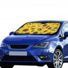 "Sunflower Flower Floral Car Auto Sun Shade Windshield 55"" x 29.53"""