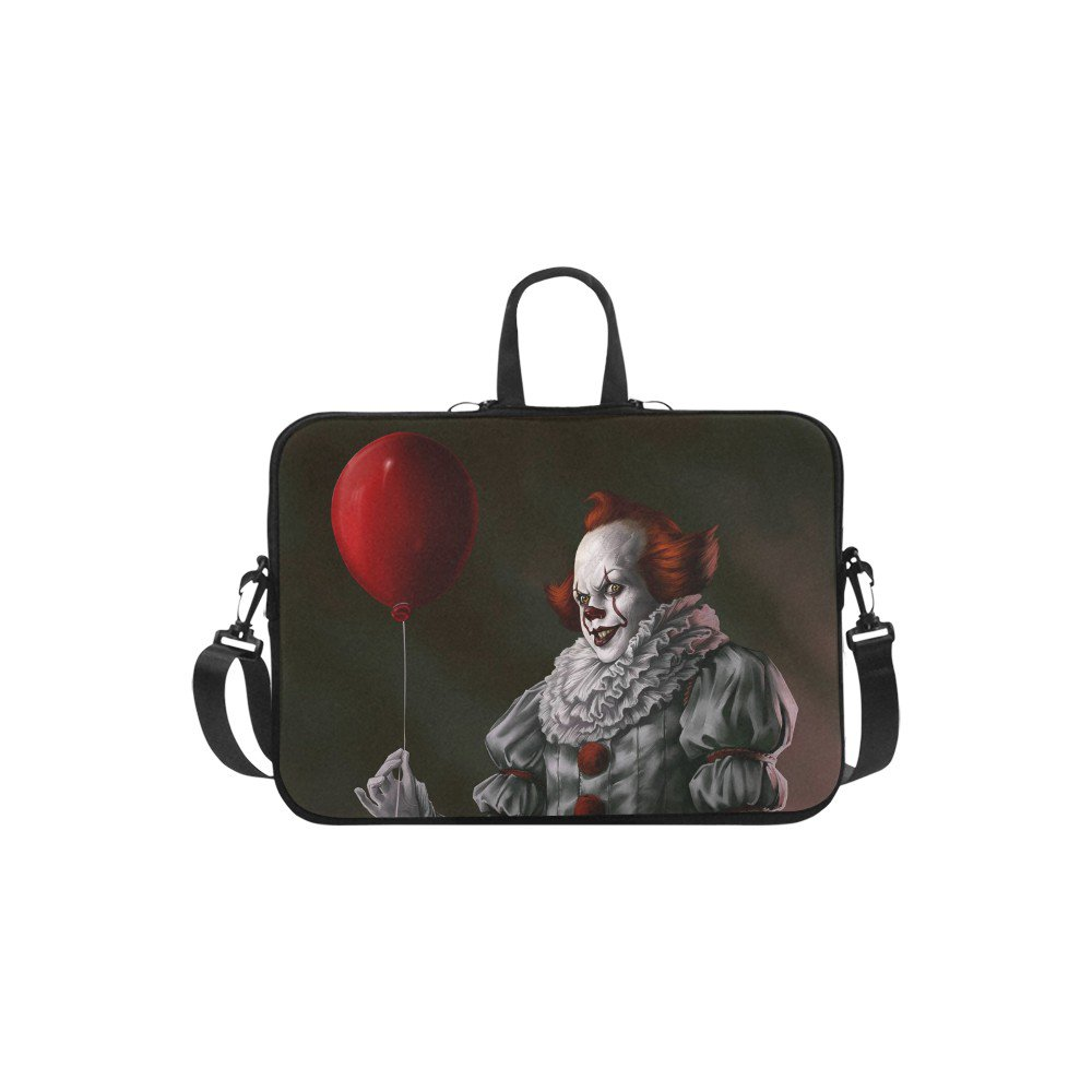 "Pennywise Scary Evil Clown Sleeve Case Shoulder Bag for Laptop 13"" 13.3"""