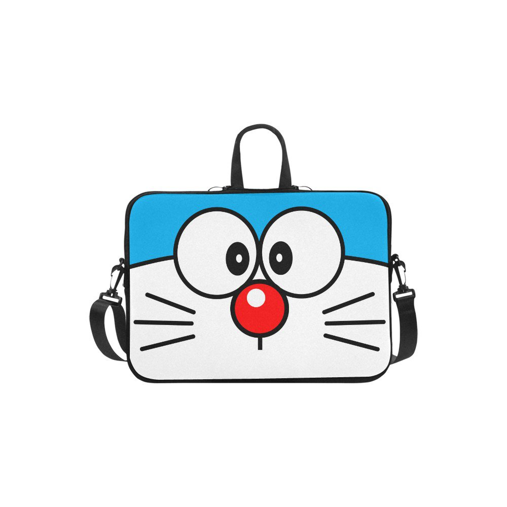 Doraemon Sleeve Case Messenger Shoulder Laptop Bag Compatible with Macbook Pro 13""