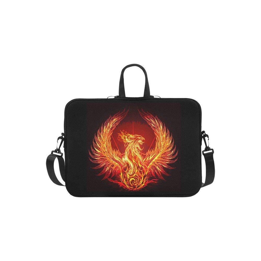 "Phoenix Bird Sleeve Case Messenger Shoulder Laptop Bag Compatible with Macbook Pro 17"""