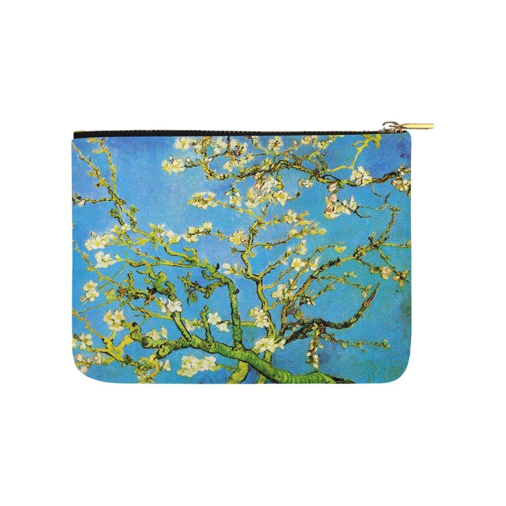 Size L - Almond Branches in Bloom Van Gogh Carry All Pouch Wallet