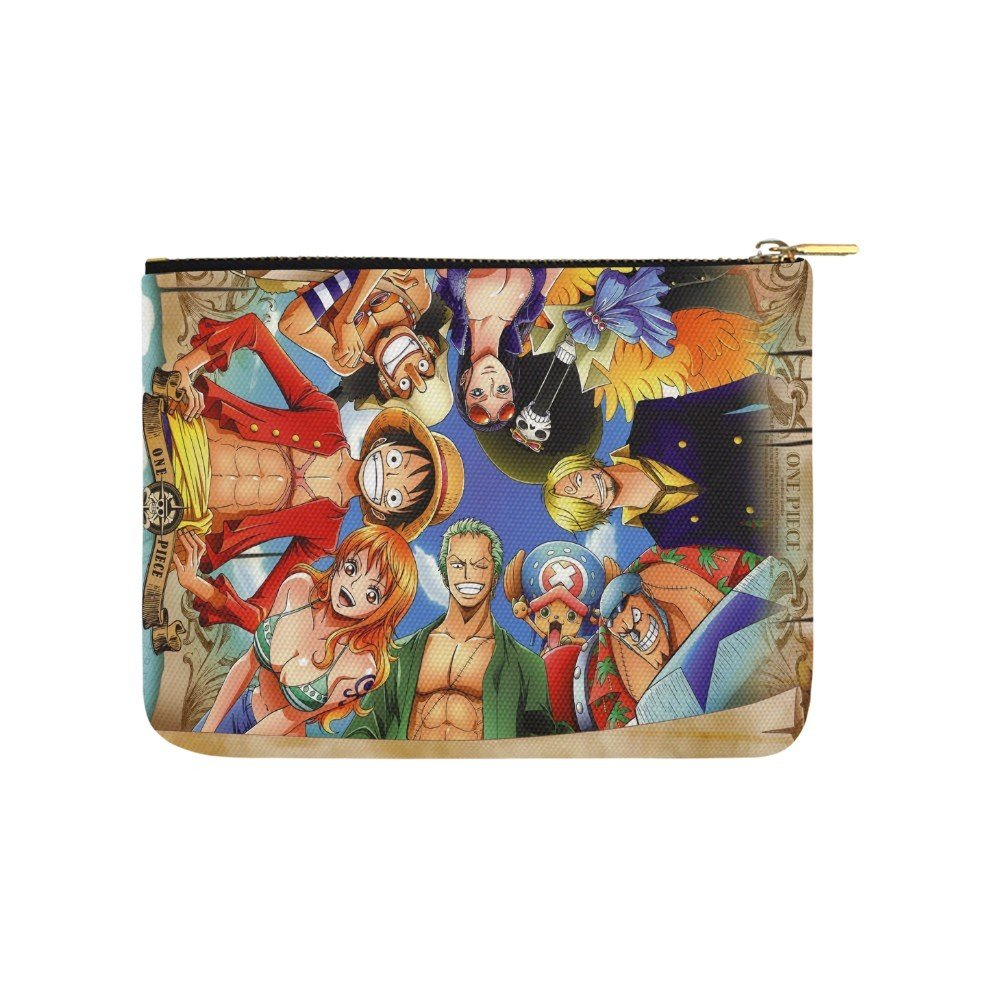 Size L - One Piece Anime Manga Carry All Pouch Wallet