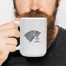 Coffee is Coming Ceramic Mug (15 Oz)