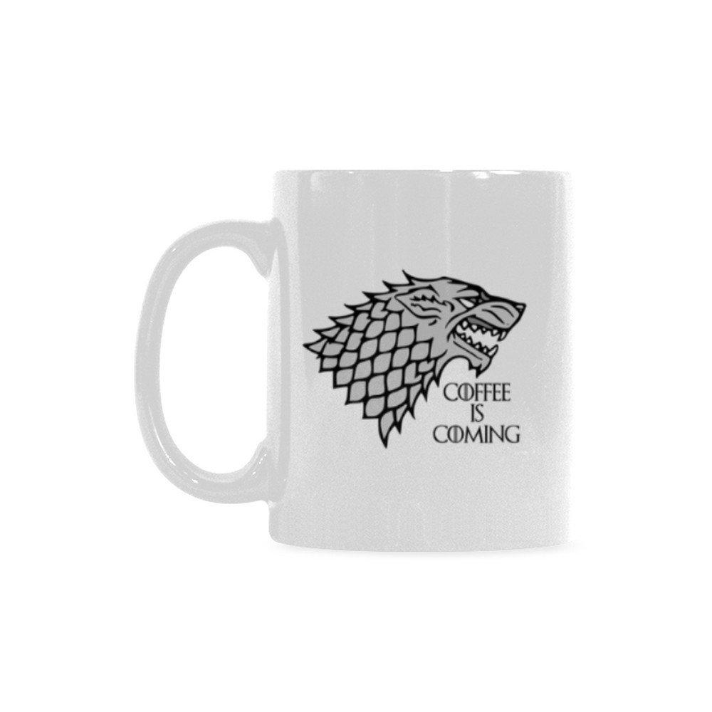 Coffee is Coming Ceramic Mug (11 Oz)