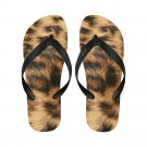 Size L Leopard Fur Printing Adult Unisex Flip Flop Slippers