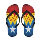 Size XL Wonder Woman Adult Unisex Flip Flop Slippers