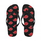 Size M Akatsuki Cloud Adult Unisex Flip Flop Slippers