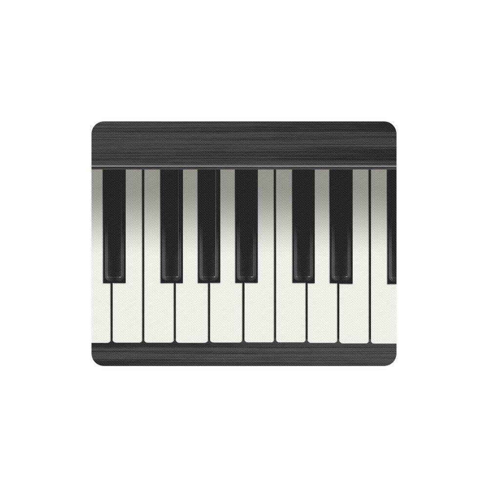Piano Rectangle Mousepad Non Slip Neoprene