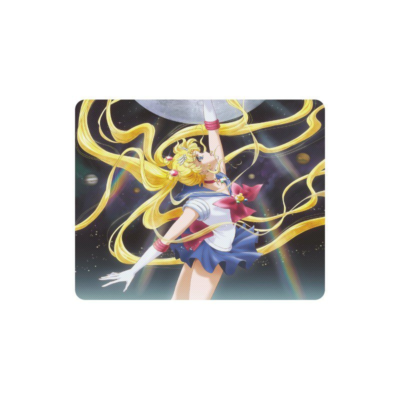 Sailor Moon Crystal Anime Manga Rectangle Mousepad Non Slip Neoprene