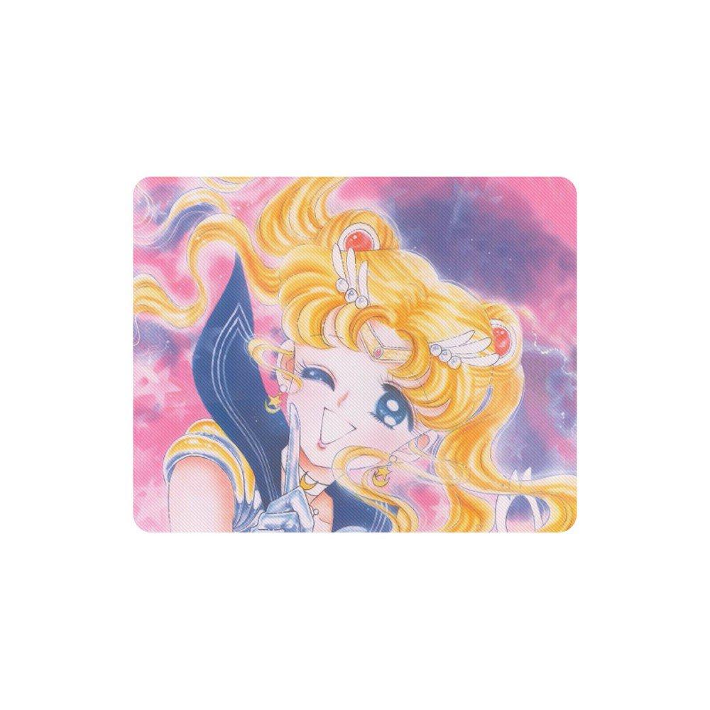 Sailor Moon Anime Manga Rectangle Mousepad Non Slip Neoprene