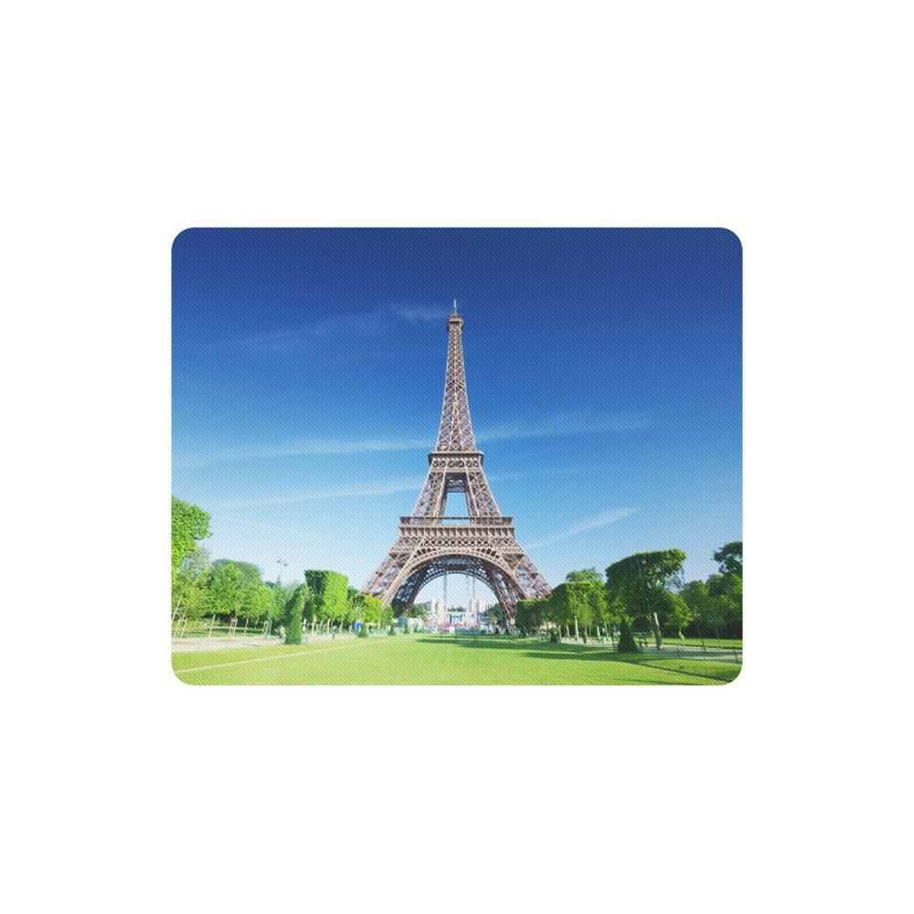 Eiffel Tower Paris France Rectangle Mousepad Non Slip Neoprene