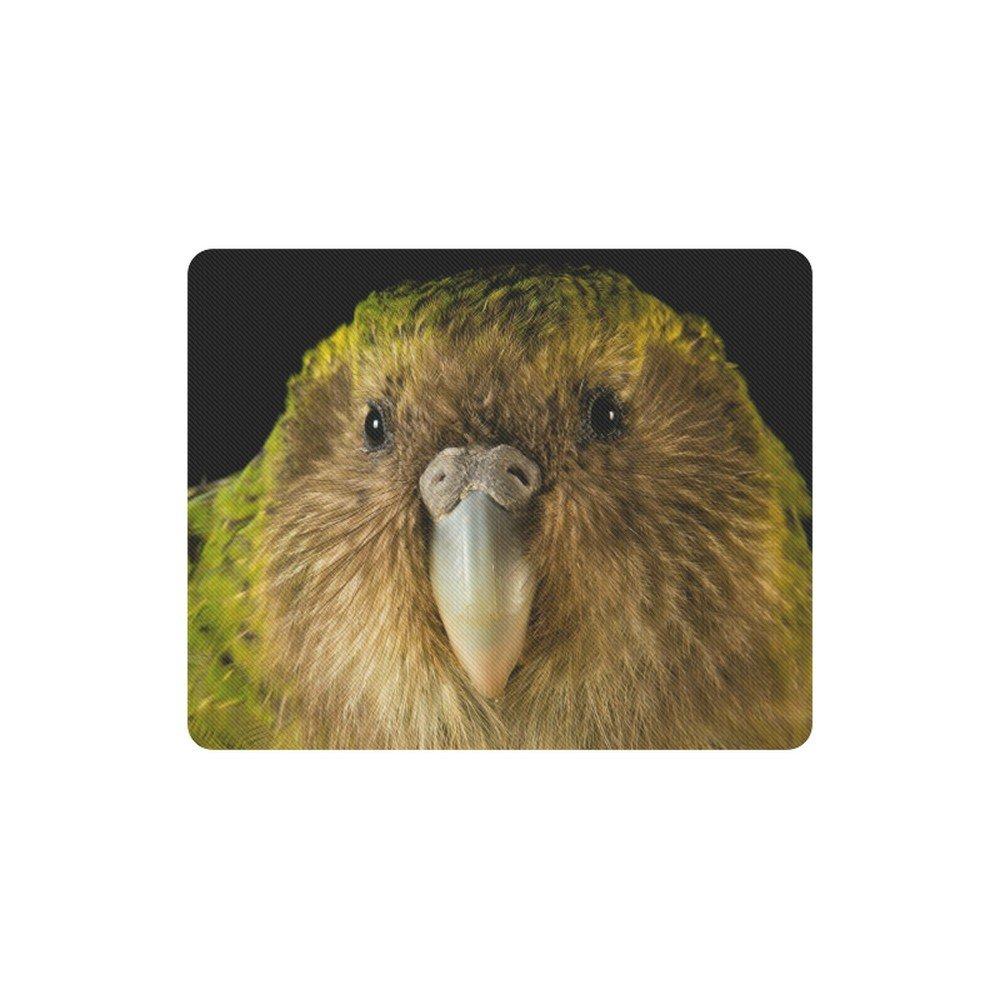 Kakapo Bird Nocturnal Animal Rectangle Mousepad Non Slip Neoprene