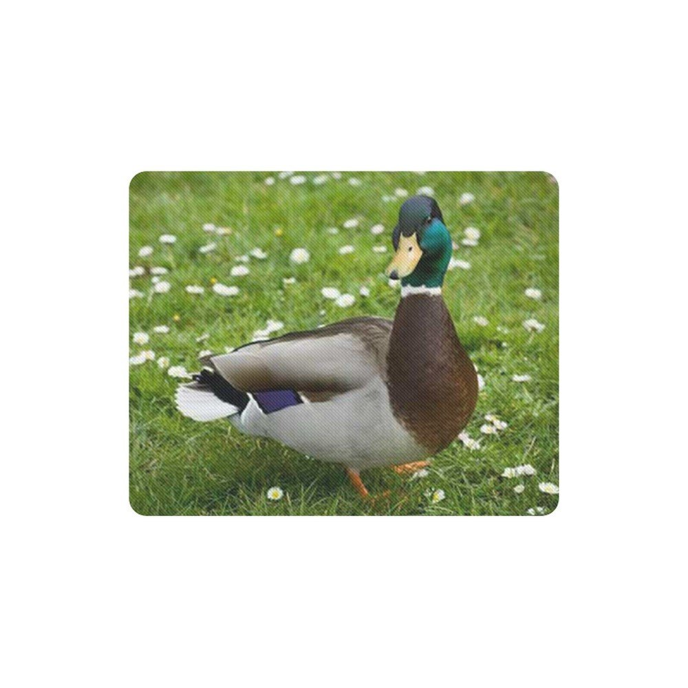 Mallard Duck Rectangle Mousepad Non Slip Neoprene