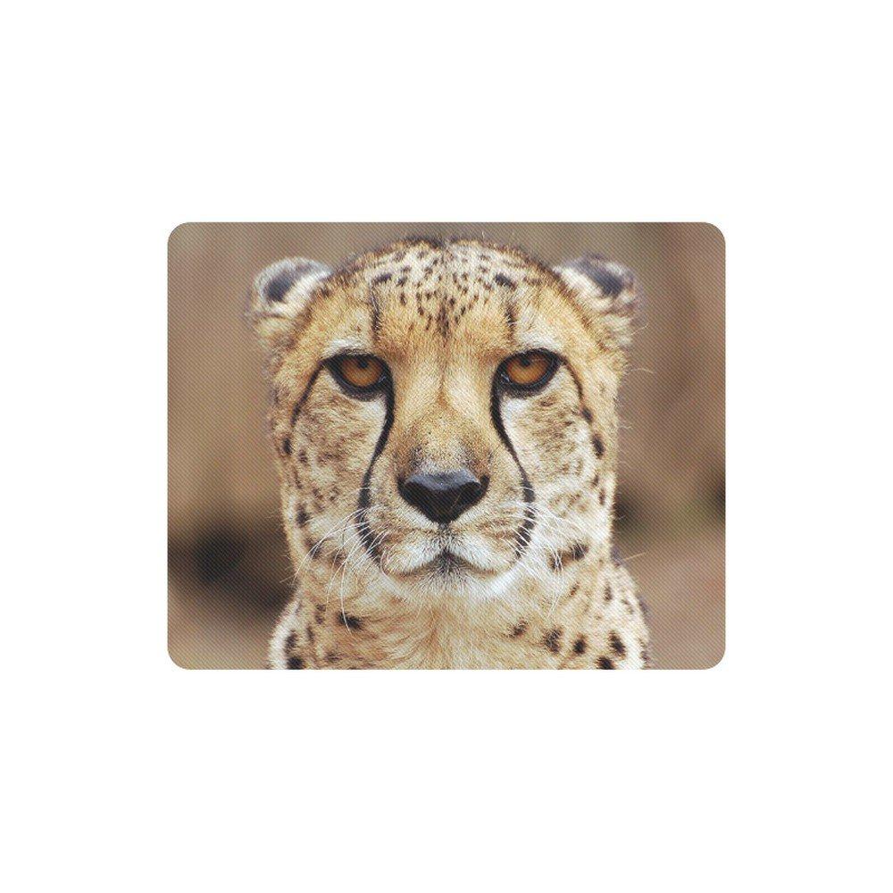 Cheetah Big Cat Rectangle Mousepad Non Slip Neoprene