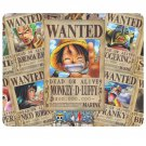 Monkey D. Luffy Wanted Dead or Alive Rectangle Mousepad Non Slip Neoprene