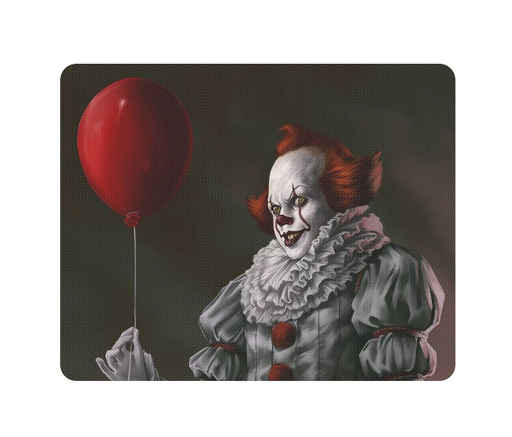Pennywise Scary Clown Rectangle Mousepad Non Slip Neoprene