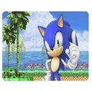 Sonic Hedgehog Rectangle Mousepad Non Slip Neoprene